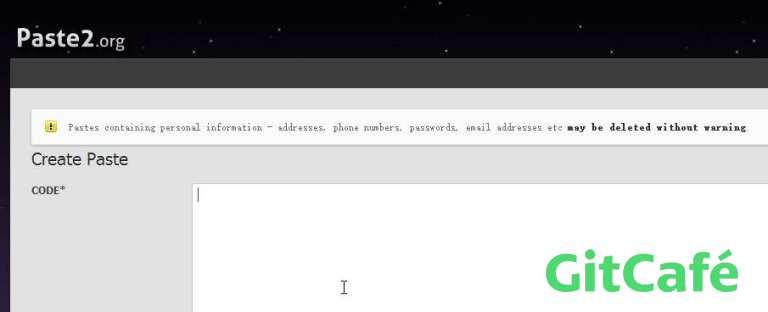 Paste2,随时随地分享你的代码-极客公园