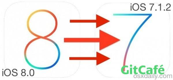 iPhone5由ios8降级至ios7.1.2官方教程-极客公园