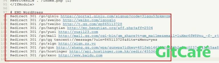 WordPress无插件无代码实现外链转内链方法-极客公园