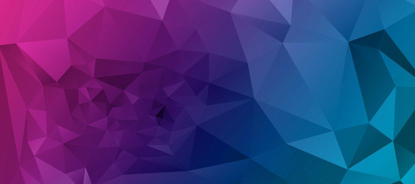 分享两个高清动感菱形变色背景图
