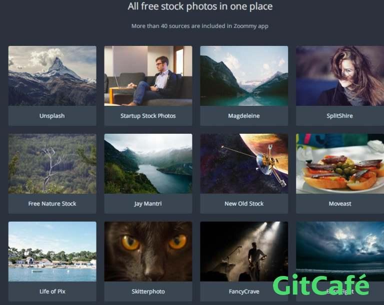 Zoommy:高清图片素材网站一站式下载体验-极客公园