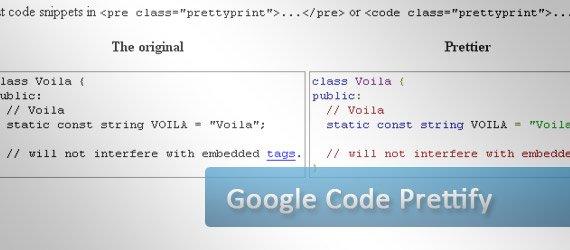 G-prettify:最轻量最简单的代码高亮插件发布