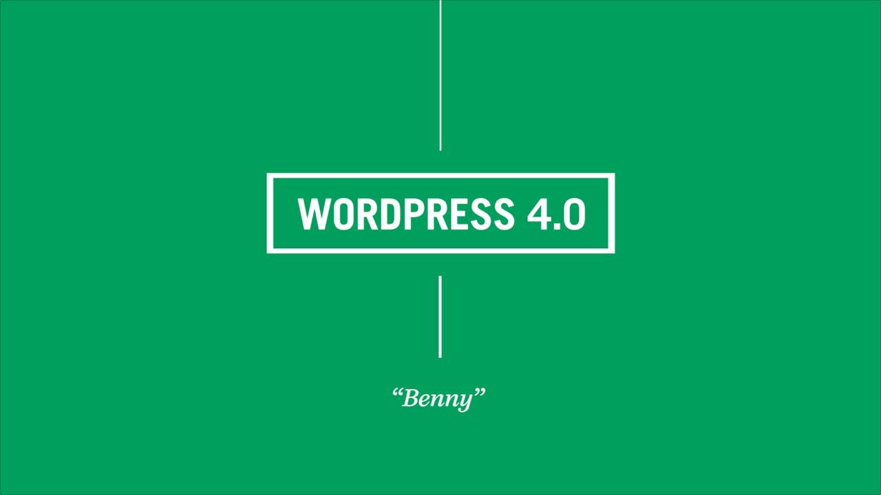 WordPress 4.0:给你最舒畅的书写环境