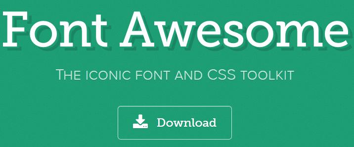 在自己的WordPress中使用Font Awesome图标
