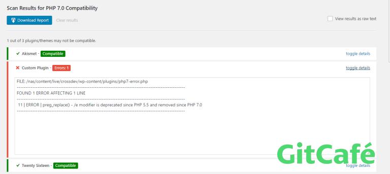 php-compatibility-checker:WordPress PHP兼容性检查插件-极客公园